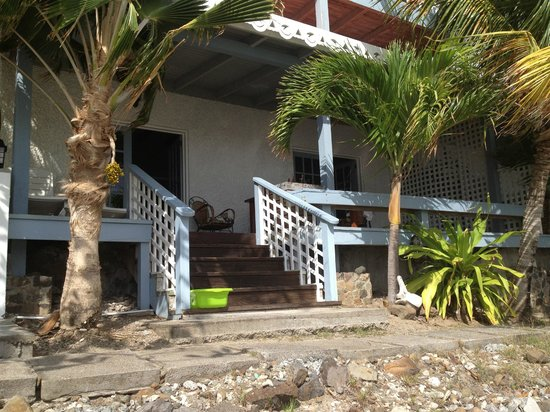 Bequia Beachfront Villas:                   villa