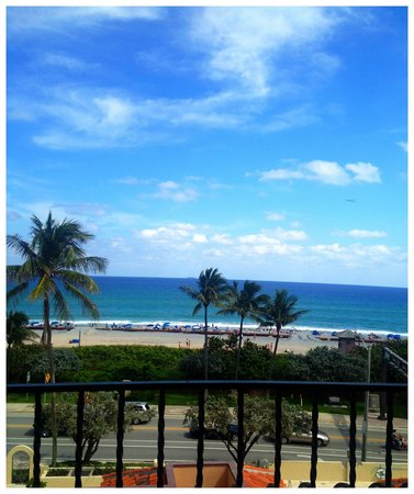 Delray Beach Marriott:                   Ocean view room