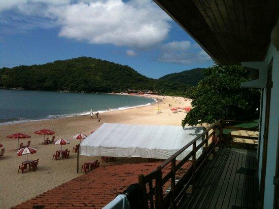 Hotel Garni Cruzeiro do Sul :                   Vue sur le baie de la chambre/terrasse