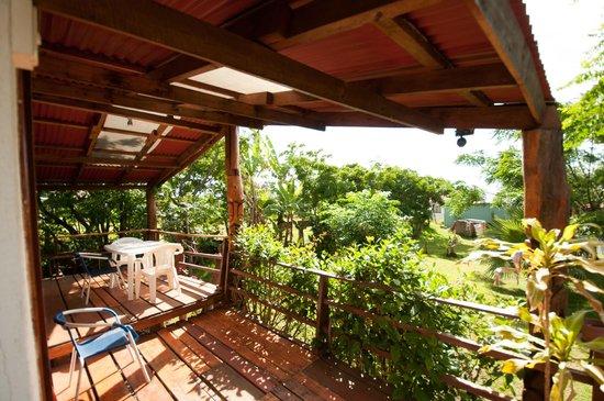 Mana Nui Inn:                   Front porch