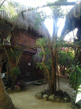 Posada Los Mapaches:                   Es un lugar muy tranquilo.