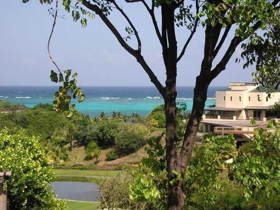 Canouan Estate Villas & Residences:                   Hidden View of Resort