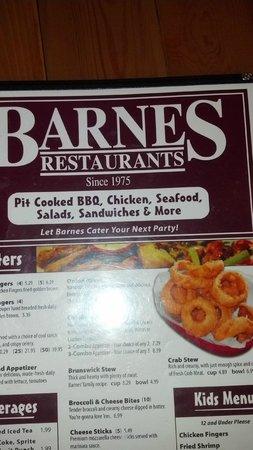 Barnes Restaurant