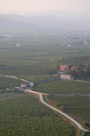 Villa Aldegheri:                   Tuscan valley