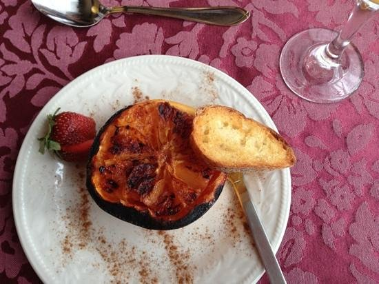 Au Manoir de la rue Merry:                   simple, delicious food