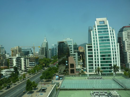 The Ritz-Carlton, Santiago: View from the room