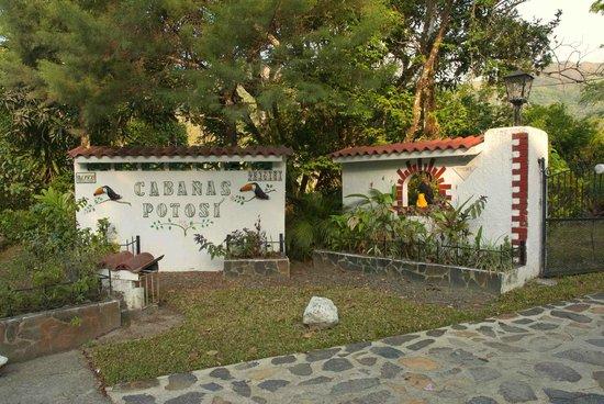 Cabanas Potosi:                   Entrance