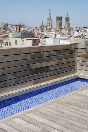DestinationBCN Apartment Suites:                   wading pool