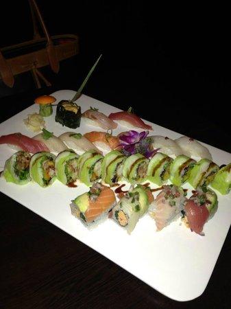 "Yuki Hana Japanese Fusion:                   Half of the ""Sushi for Two"""
