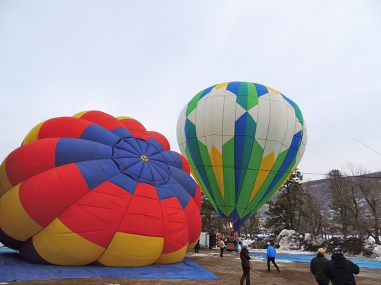"Airial Balloon Company:                   Airing up the ""envelopes"""