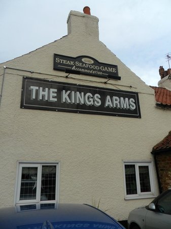 "The Kings Arms:                                     The Inn fit for ""Royalty"""