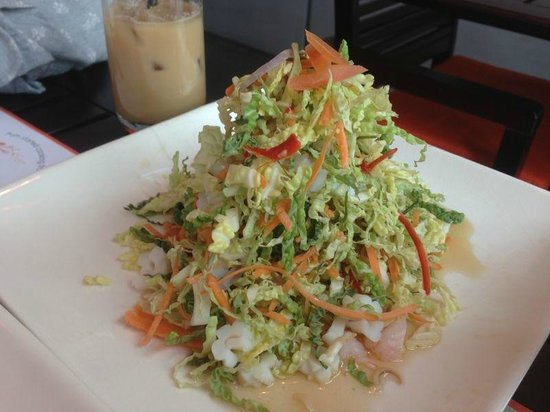 Pum Thai Restaurant:                   Bunch of dry mixed cabbage