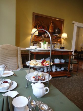 The Inn on Negley:                   English High Tea Service
