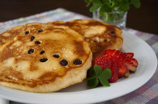 Palmer House Inn: St. Patrick's Day pancakes