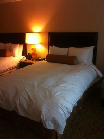 JW Marriott Atlanta Buckhead:                   My comfy queen bed!