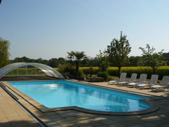 Piscine picture of la petite richerie nouans les for La piscine review