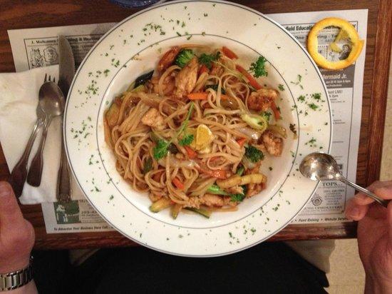 Dimitri's Diner Family Restaurant:                                     Pasta Dish