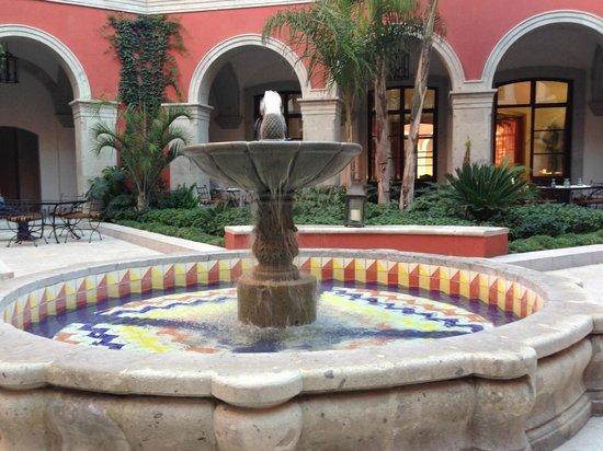 Rosewood San Miguel de Allende:                   The main patio
