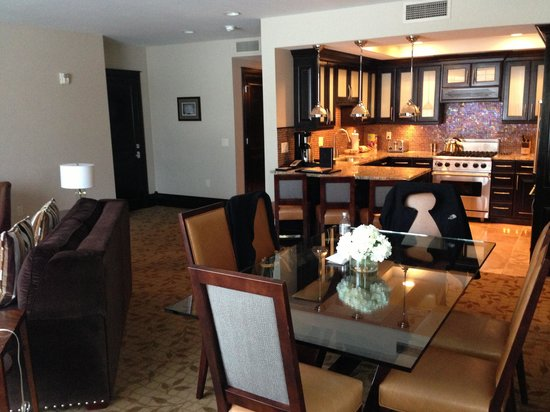 Waldorf Astoria Park City:                                     One bedroom suite with high end kitchen