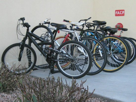 Days Inn & Suites Scottsdale North:                   Bikes available to use!