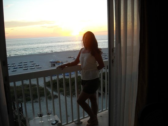 TradeWinds Island Grand Beach Resort:                   View from the gulf front rooms