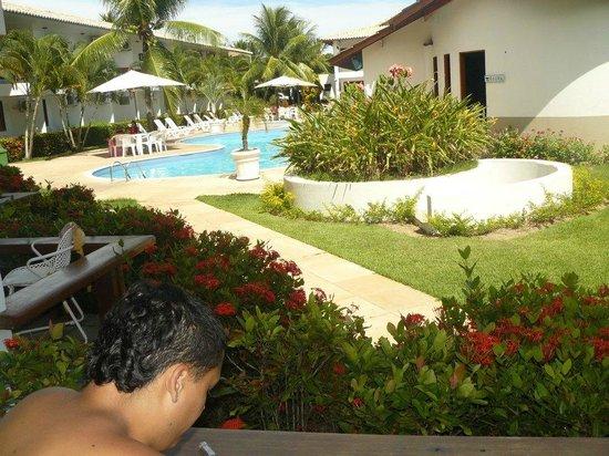 Tropical Oceano Praia:                   vista desde la habitacion