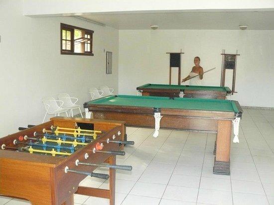 Oceano Praia Hotel:                   sala de juegos