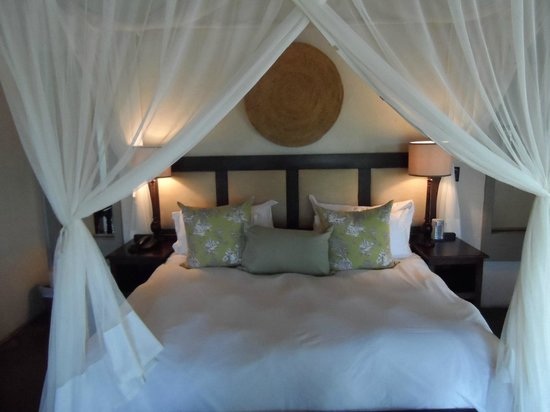 Jock Safari Lodge:                   Bed