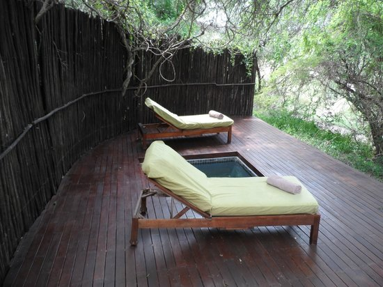 Jock Safari Lodge:                   Plunge pool