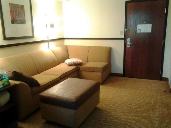 Hyatt Place Tampa Airport/Westshore:                   living area