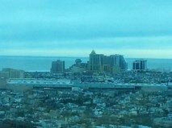 Borgata Hotel Casino & Spa:                   34th Floor view of Atlantic City from room