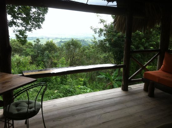Tubagua Plantation Eco Lodge:                   View from my cottage