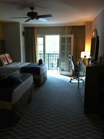 Gaylord Palms Resort & Convention Center:                                     Room with Balcony                                  