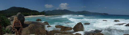 Ilha Grande, RJ: panoramica desde una de las puntas
