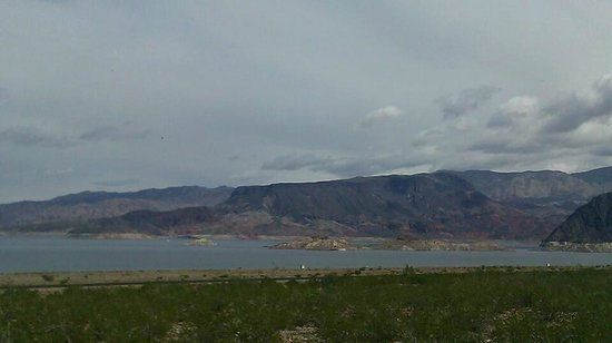 Lake Mead RV Village:                   Lake Front Views at RV park