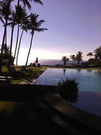 Travaasa Hana, Maui:                   Pool - adult side (Sea Ranch Cottages)