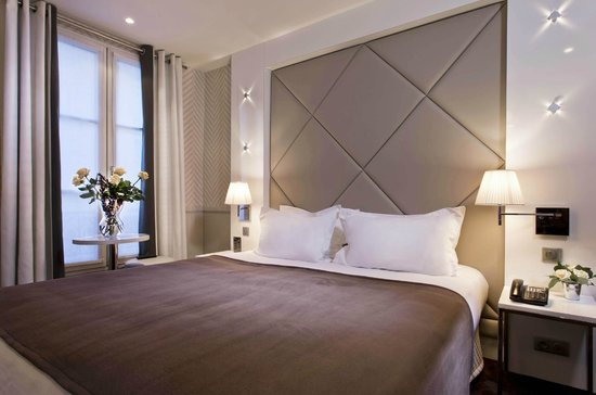 Hotel Longchamp Elysees : Double