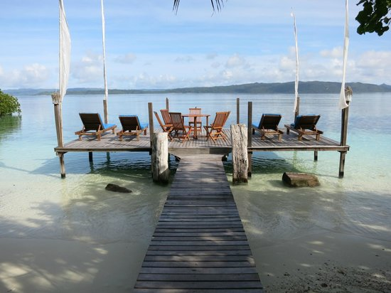 Raja Ampat Dive Lodge:                   Sun Deck