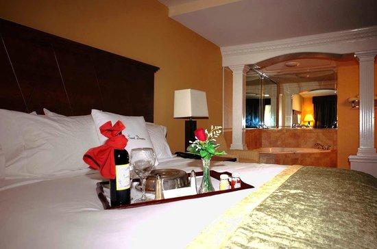 DoubleTree By Hilton Hotel Fayetteville: Whirlpool Suite