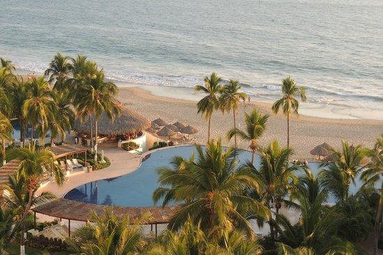 Krystal Ixtapa:                   View from room