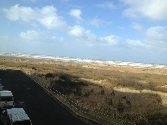 Quinault Beach Resort and Casino:                   Great view from the room!