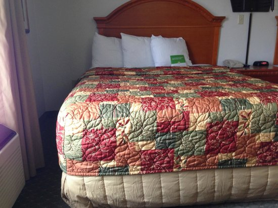 La Quinta Inn & Suites Sevierville / Kodak:                   Old timey (1980s) bedspread