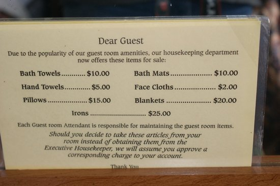 Days Inn & Suites Port Richey:                   Passive-aggressive signage.