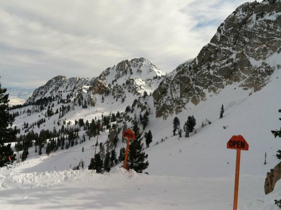 Snowbasin Resort:                   Top of the John Paul