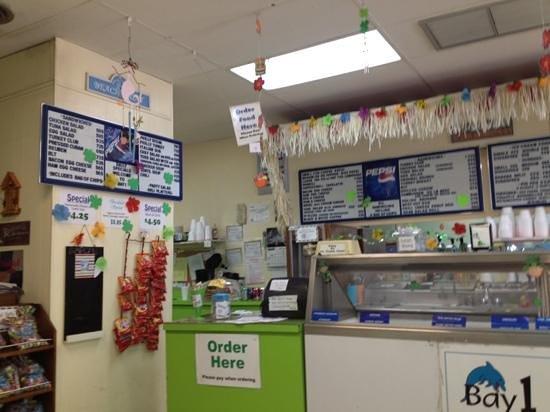 Bay 1 Ice Cream & Sandwich Shop: Order Here!