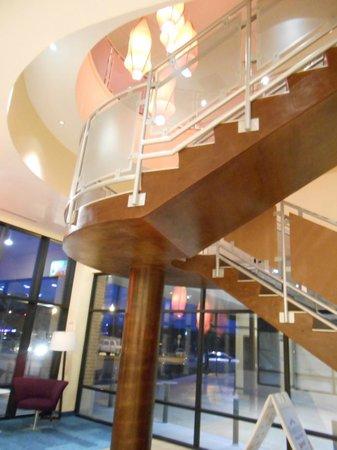 Fairfield Inn & Suites Tulsa Downtown:                   the entry