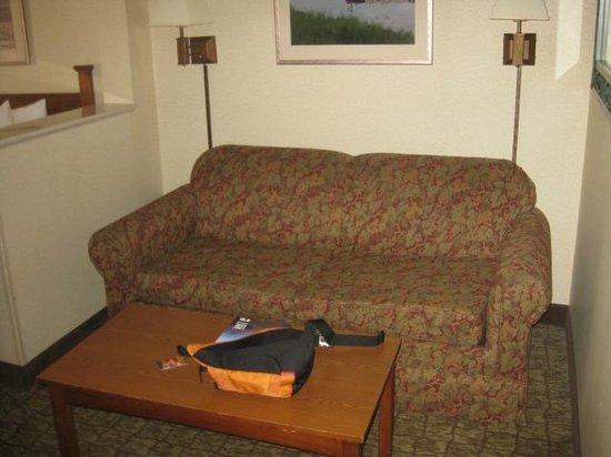 Comfort Suites Canal Park :                   Sitting Area