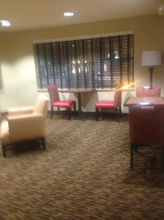 Extended Stay America - Oakland - Alameda:                   right outside the room