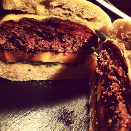 The Head of Steam Durham:                   Italian Burger