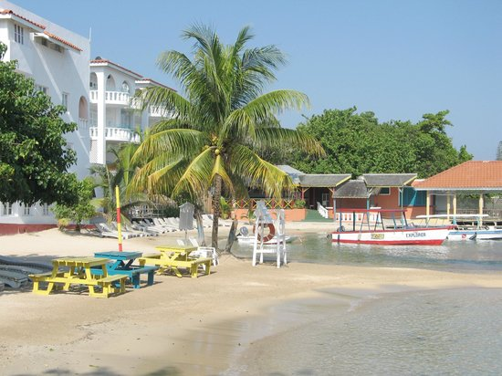 Franklyn D Resort & Spa: Beach